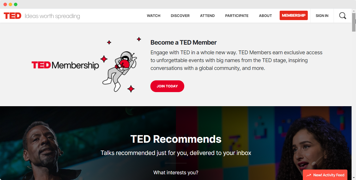 embed ted
