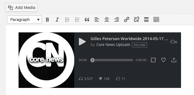 How to Embed Mixcloud Audio Files in WordPress - EmbedPress