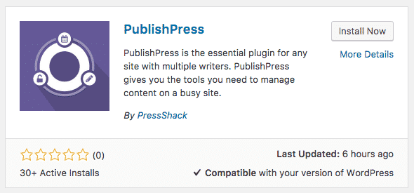 Install PublishPress