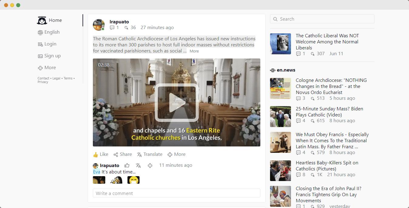 embed Gloria.tv videos