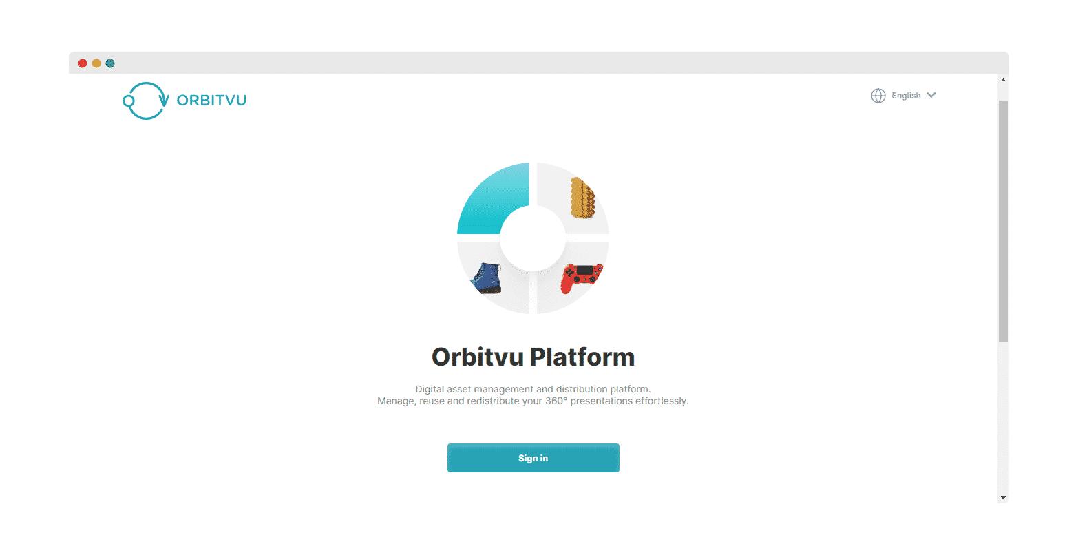 embed Orbitvu 360° images