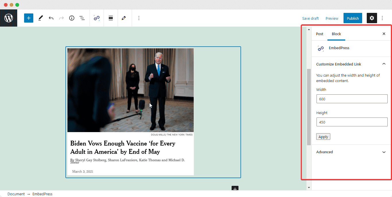 embed The New York Times
