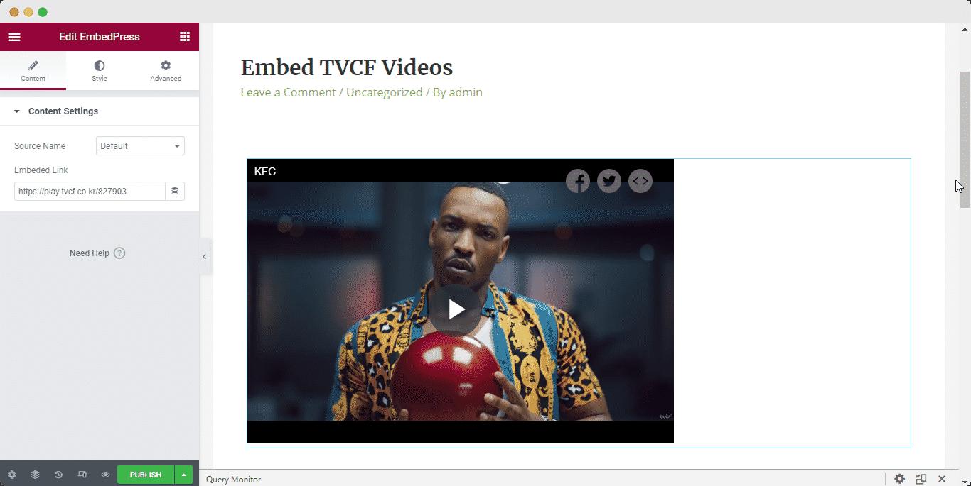 embed TVCF advertisement