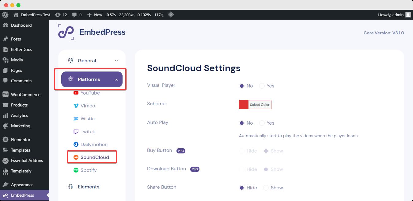 EmbedPress 3.1.0 update